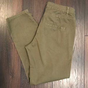 Zara Z1975 Denim chino pants